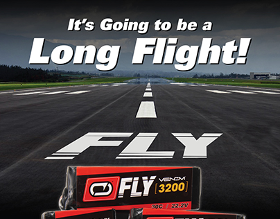 Venom Fly Magazine Campaign