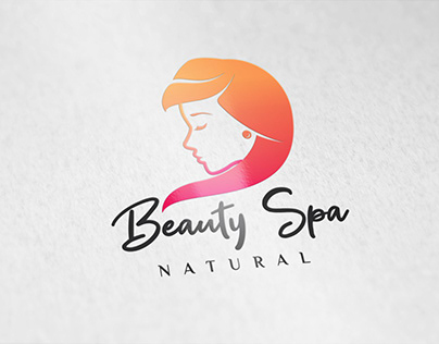 Beauty and Spa logo design