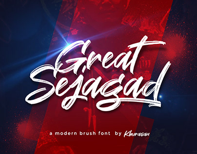 Great Sejagad Free Font for commercial use