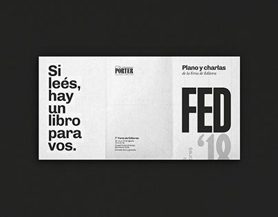 FED'18 - 7º Feria de Editores
