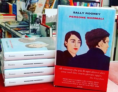nerosunero cover for Sally Rooney, Einaudi
