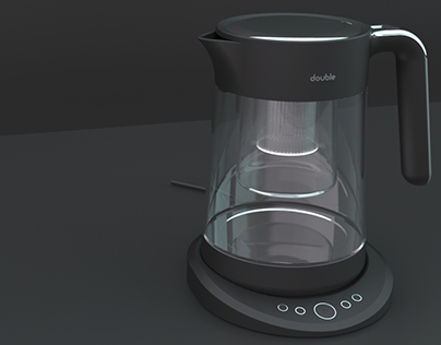 Double compact tea maker