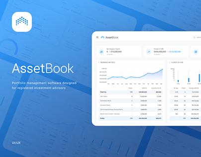 AssetBook - WebUI