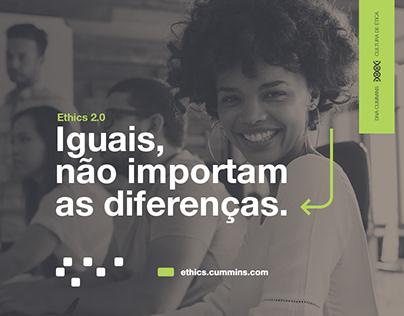Campanha Ethics 2.0 - Cummins Brasil
