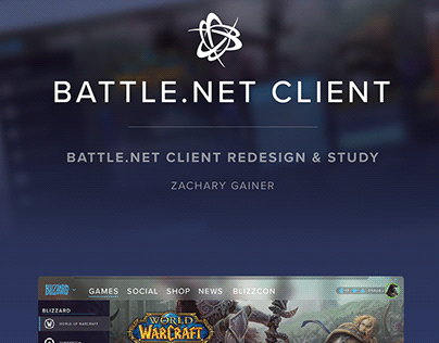 Battle.net Redesign & Study