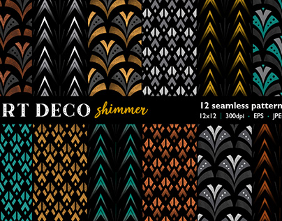Art Deco Shimmer collection