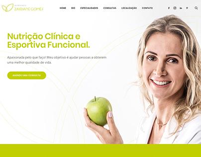 Zairiane Gomes - Web Site