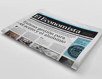 El economista - Diseño editorial