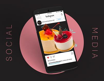 Crema y Nata Gourmet - Social Media
