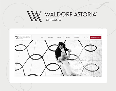 Waldorf Astoria Chicago Site Redesign