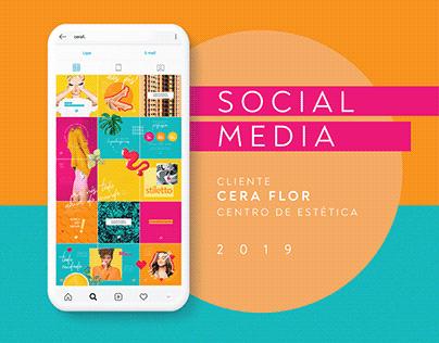 Social Media - Cera Flor