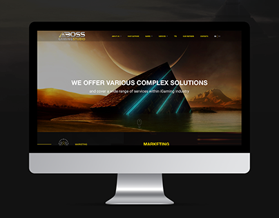 Site of the company that develops iGaming