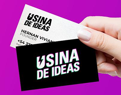 USINA DE IDEAS - Branding