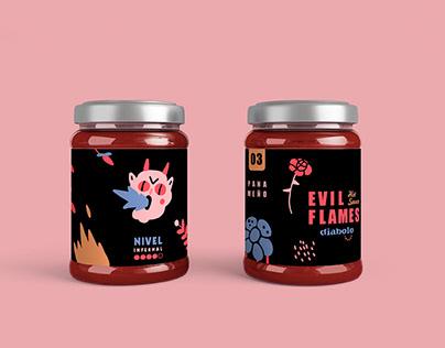Evil Flames Hot Sauce