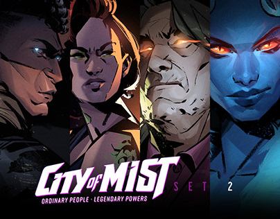 City of Mist Characters SET 2
