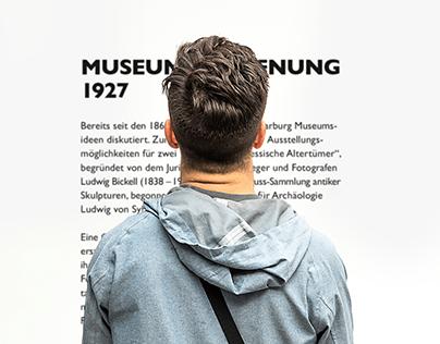 Kunstmuseum Marburg. Rebranding.