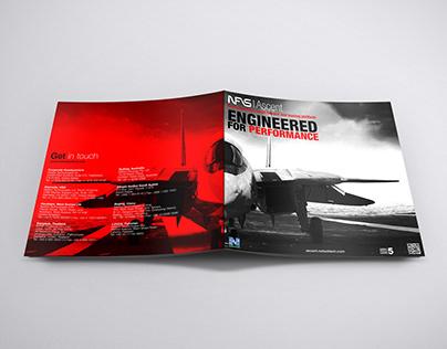 Brochure design for NFS Ascent