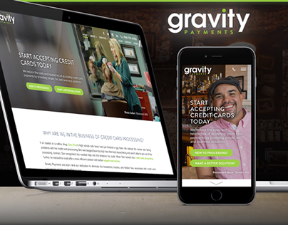 Gravity Payments Website Refresh