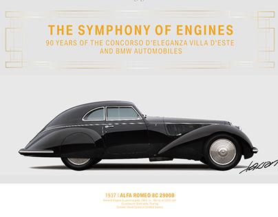 1937 Alfa Romeo 8C 2900B - Villa D´Este 2019 Winner