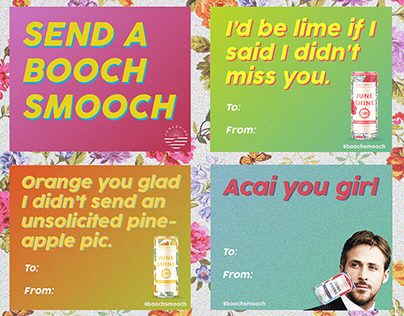 JuneShine Valentine Marketing Campaign