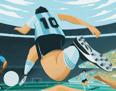 Diego vs Maradona