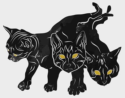 Feli-Delphia Fundraiser Illustrations 2019
