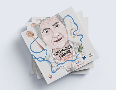 Editorial illustration about elder people