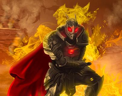 Knight Black Kamen Rider