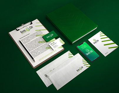 Brandbook cтроительной компании Green City