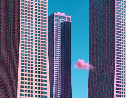 Vivid Skyscrapers