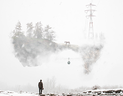 Compositing | Manipulation - Dreams of Kashmir.