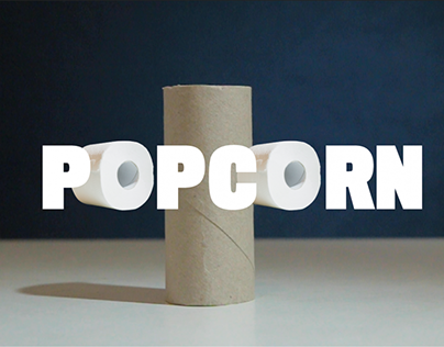 Popcorn song by toilet rolls