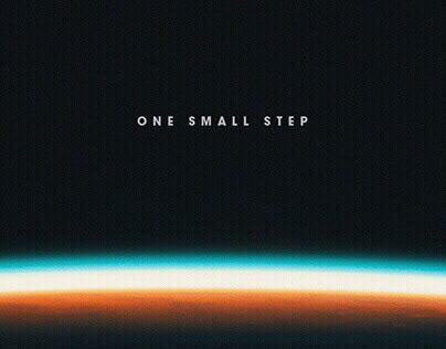 One Small Step / Main Title Design