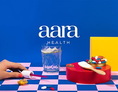 Aara Health - Branding, Packaging & Web Design