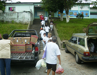 2008 - Festa de Natal - Projeto Apadrinhe