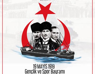 19 Mayıs 1919 Gençlik ve Spor Bayramı
