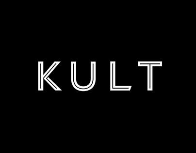 Kult Activewear Branding