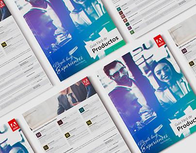 Guía de Soluciones Adobe - Adobe Product Guide