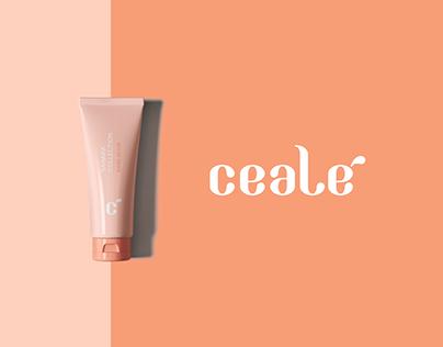 Ceale Cosmetics brand identity