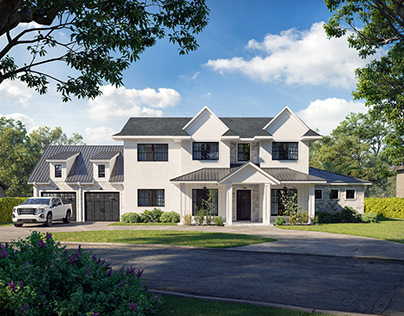 Render of Private House in Florida Orlando
