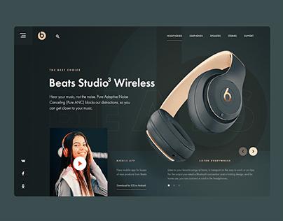 Beats music redesign mobile app. UI/UX