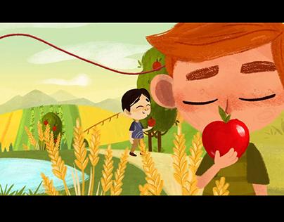 Save the Children / OVS - Christmas Cartoon