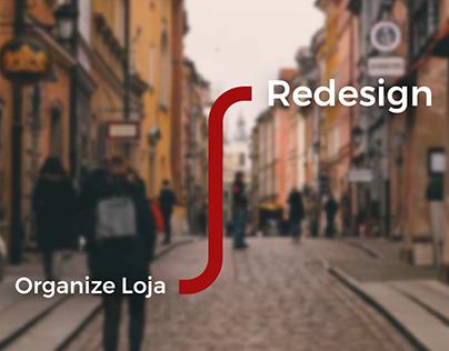 Organize loja // Redesign