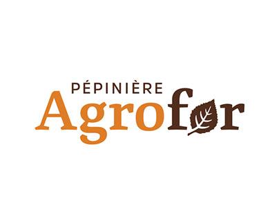 Pépinière Agrofor – Identité visuelle