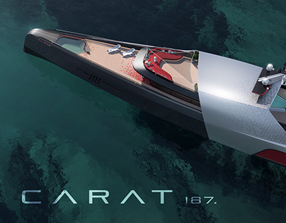 Carat 187 Superyacht Concept