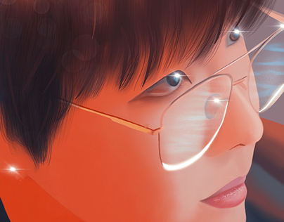Digital Portrait (J-Hope of BTS)
