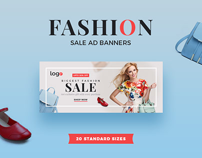 Fashion Sale Ad Banners