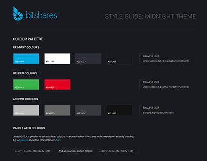 Bitshares DEX UI style guide