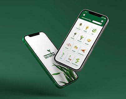 Go Grow Sustainable Farming - Application Design