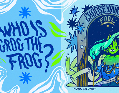 🔮🐸🌿 Grog the Frog youtube video is up 🌿🐸🔮
